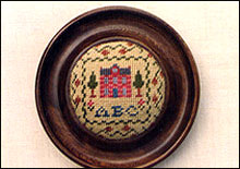 Sampler Pincushion