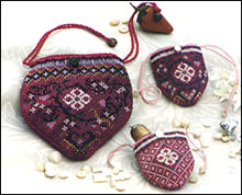Beaded Berry Bag